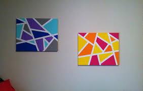 simple canvas paintings beginners easy art home design