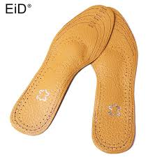 eid free size ultra thin breathable deodorant leather insoles instantly absorb sweat replacement inner soles shoes