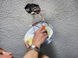 Replace Fan Light Fixture How To Replace A Light Fixture With A Ceiling Fan How Tos