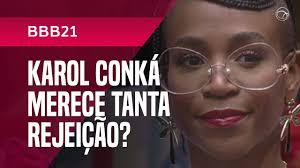 BBB 21: Enquete do UOL indica eliminação de Karol Conká com rejeição