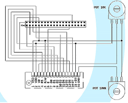 opencockpits usblcd card review for more information on exactly which of these 40 pins are used please observe the following diagram furthermore this circuit diagram includes wires and