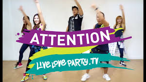 Party Love Puth By Fitness Charlie - Live Attention Dance Youtube
