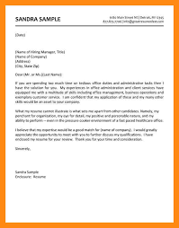 Unique Office Administrator Cover Letter Sample    In Structure A Cover  Letter with Office Administrator Cover Letter Sample Pinterest