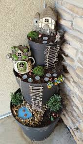 25 awesome backyard diy project ideas on budget diy fairy flower tower