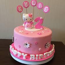 Pink Hello Kitty Cake Crissas Cake Corner