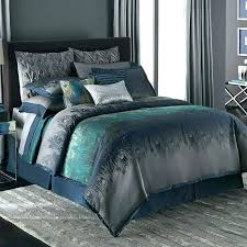 turquoise and gray bedding beautiful teal