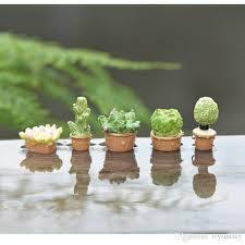 2020 simulated succulent cactus pot