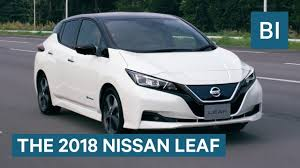 2018 nissan electric car. brilliant nissan nissan joins the fight for a lowbudget electric car with new 2018 leaf for nissan p