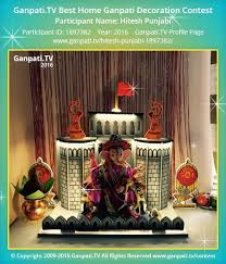 153 best ganpati decorations images
