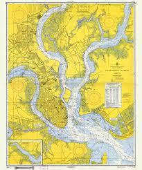 Charleston Nautical Chart Historical Nautical Chart 470 06 1959 Charleston Harbor