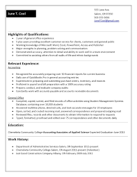 Student Sample Resumes Amazing Sample Resumes For Students For Your Sample Resume No Work 49