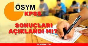 KPSS sonuçları 2021! KPSS sınav sonuçları açıklandı mı? 2021 lisans KPSS  sonuçları ne zaman açıklanacak? - Eğitim Kalbi