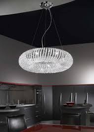 kolarz carla chrome 5 light crystal ceiling light pendant 0256 35 5 kpt kolarz lighting luxury lighting