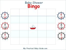 Printable Blank Cards Baby Shower Gift Bingo Printable Template Blank Cards Pdf