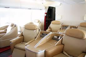Air France A380 First Class Cabin