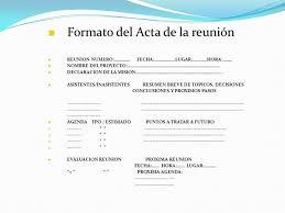 Resultado De Imagen Para Acta De Reunion Formato Reuniones