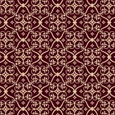 royal red carpet texture. Vector Damask Seamless Pattern Background. Classical Luxury Old Fashioned Ornament, Royal Victorian Red Carpet Texture |