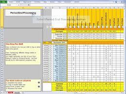 Scorecard Template Employee Performance Scorecarde Excel And Free Scorecard