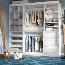 85 8 w closet system