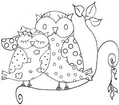 Free Printable Owl Coloring Pages Halloween Goemirates
