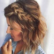 Short Prom Hairstyles 13 Best 24 Chic Braided Hairstyles For Medium Length Hair Pinterest