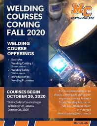 Morton College - Welding's back in 27 days at Morton... | Facebook