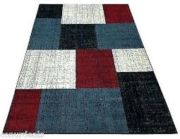 target rugs 5x7 blue area rug rugs area rug carpet black white red blue square design target rugs