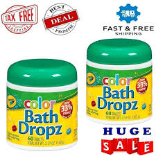 bath color tablets crayola
