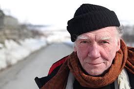 Journalisten Johan Bergström vid Nollpunkten i Stilla. Han var här 1981 och arbetade som journalist åt Sveriges Radio. Foto: Carl-Magnus Helgegren - 2399978_520_347
