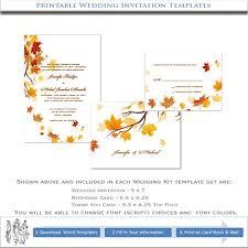 51 best wedding invites!! images on pinterest autumn wedding Printable Autumn Wedding Invitations diy autumn wedding invitations printable fall templates printable autumn wedding invitations