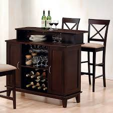 Mix And Match Bar Set With 2 Barstool Choices Cappuccino Coaster