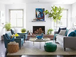casual living room. Blue Casual Living Room, Emily Henderson On HGTV Room G