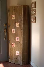image of vintage broom closet cabinet
