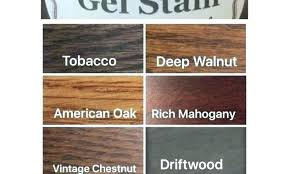 American Finishes Gel Stain Timbales Co