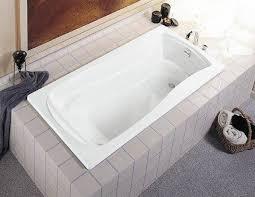 kohler k 1242 0 mariposa 5 foot drop in soaking tub with reversible drain