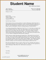 College Application Resume Examples For Highschool Seniors Awesome
