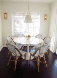 Exclusive A Chic Galley Kitchen For The Home Tulip Dining Table
