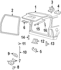 2006 ford explorer parts ford factory parts genuine ford parts 2006 Ford Explorer Parts Diagram \