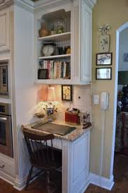kitchen office organization. the thrifty gypsy home tour part kitchen and keeping room love this little desk nook shelf of vintage accessories collection vignette office organization n