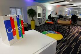 office of google. A File Photo Shows The Inside Of Headquarters Google France In  Paris. Photo Office Google