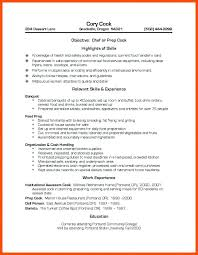 Cook Resumes Adorable Prep Cook Resume Line Cook Resume Objective Samples Prep Sample