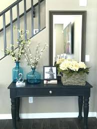 entry tables for small spaces. Entry Table Decor Ideas Small Space Source A Furniture Tables Fresh Round For Spaces .