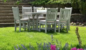 maintain wooden garden furniture