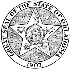 Oklahoma State Seal Coloring Page Enormous Oklahoma State Seal