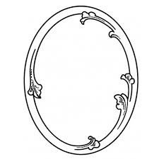 simple frame tattoo.  Simple 500x500 Best Photos Of Oval Frame Drawing Throughout Simple Tattoo L