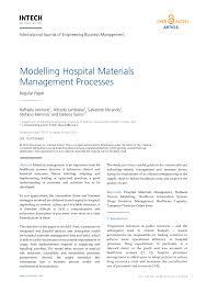 Design And Implementation Of Hospital Management System Pdf Modelling Hospital Materials Management Processes