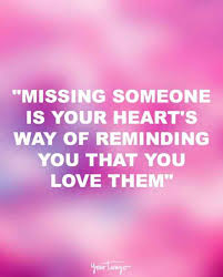 Missing Your Love Quotes Cool 48 Quotes For When You're REALLY Missing Someone You Love YourTango