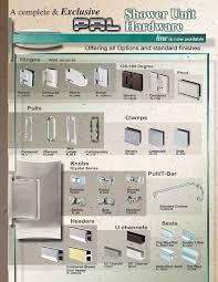shower glass shower door hardware all in one shipment