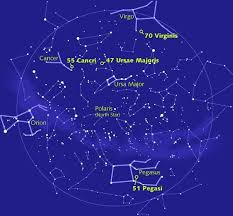 Sky Maps Star Chart Constellations Map Of The Planets Annuitysell Info