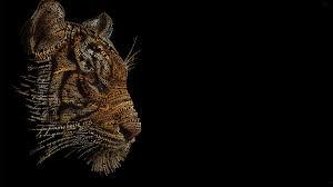 Abstract Tiger Wallpaper Hd [1920x1080 ...